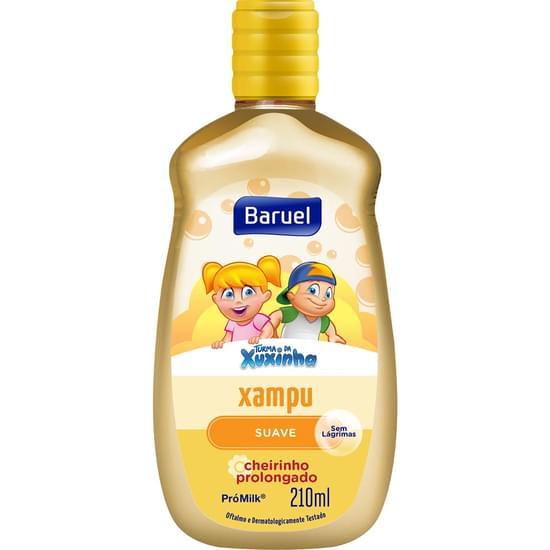 Imagem de Shampoo infantil turma da xuxinha suave 210ml