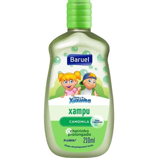 Imagem de Shampoo infantil turma da xuxinha camomila 210ml