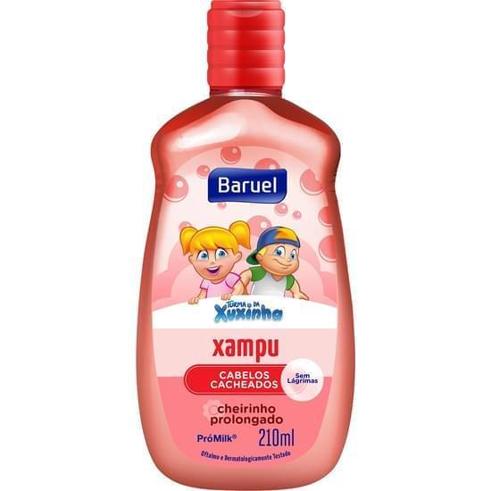 Imagem de Shampoo infantil turma da xuxinha cabelos cacheados 210ml