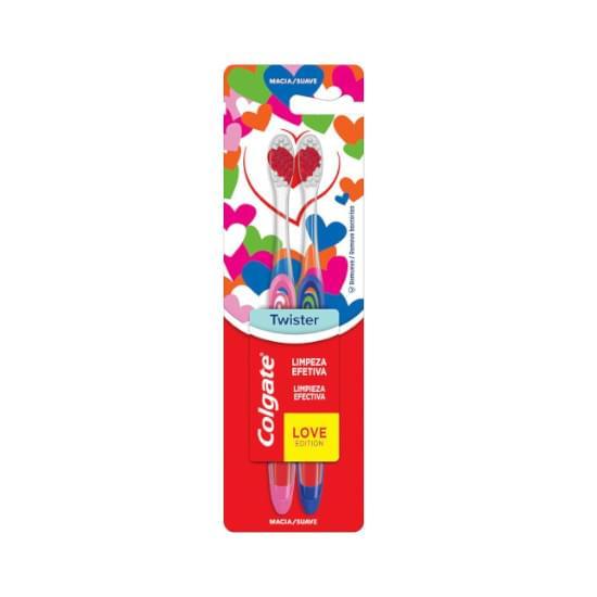Imagem de Escova dental colgate twister edição especial 2 unid