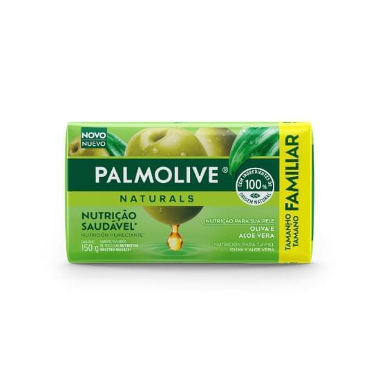 Imagem de Sabonete em barra palmolive naturals hidratação saudável aloe e oliva 150g