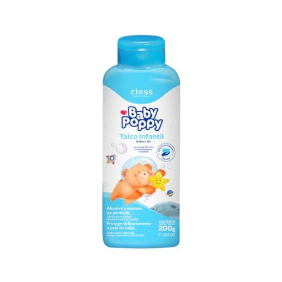 Imagem de Talco infantil babby poppy 200g