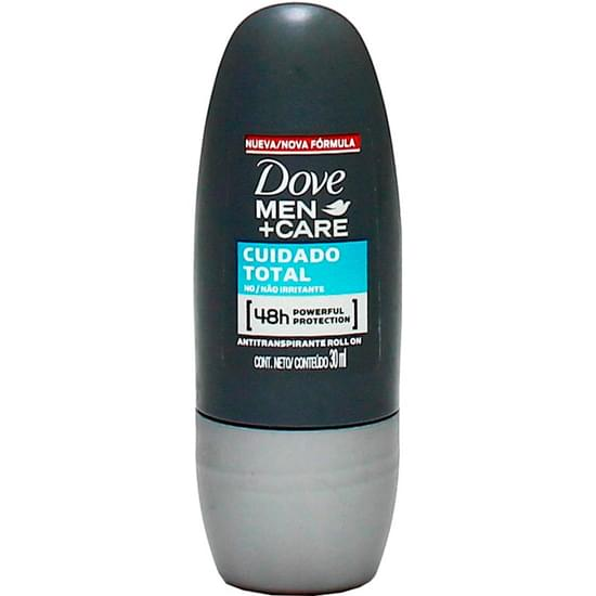 Imagem de Desodorante roll-on masculino dove compacto clean comfort men care 30ml | com 6 unidades