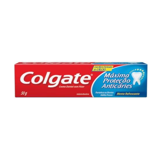 Imagem de Creme dental colgate máxima proteção anticáries 50g