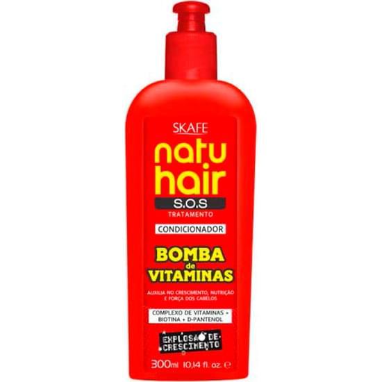 Imagem de Condicionador natu hair bomba de vitaminas 300ml