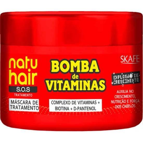 Imagem de Máscara para tratamento natu hair bomba de vitaminas 350g