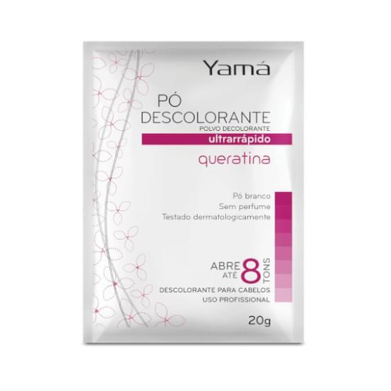 Imagem de Pó descolorante yamá queratina 50g