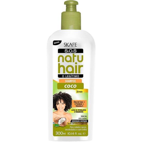 Imagem de Shampoo natu hair s.o.s coco 300ml
