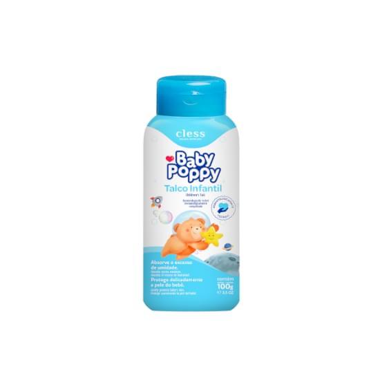 Imagem de Talco infantil babby poppy 100g
