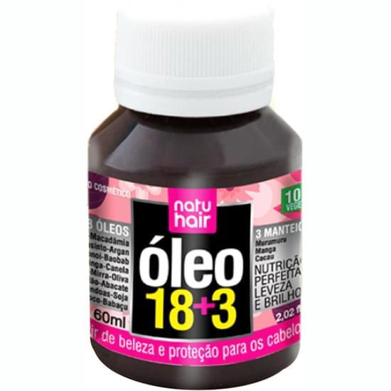 Imagem de Óleo capilar natu hair 18 óleos + 3 manteigas 60ml