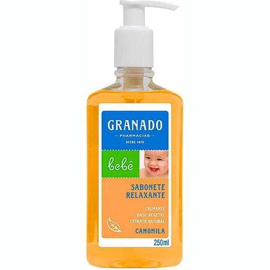 Imagem de Sabonete líquido infantil granado bebê camomila 250ml