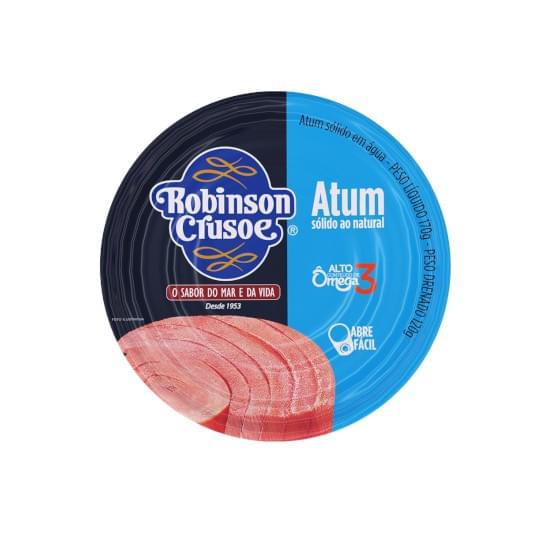 Imagem de Atum sólido natural robinson crusoe 170g / leve 3 e pague menos