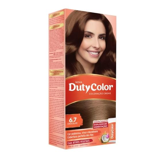 Imagem de Tintura duty color 6.7 chocolate