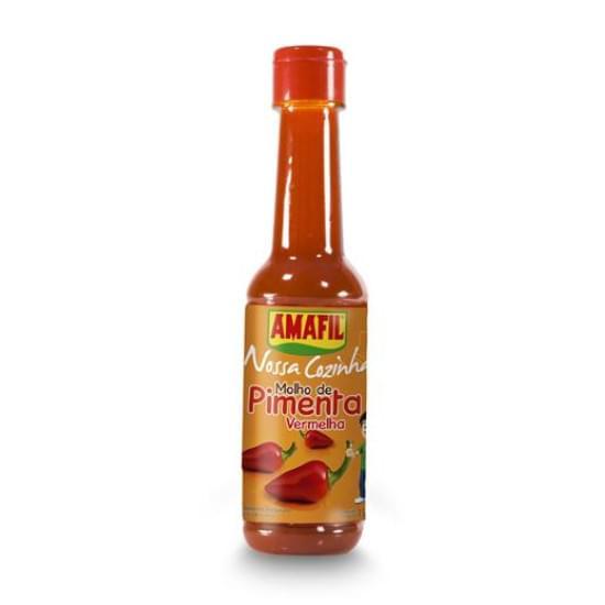 Imagem de Molho de pimenta vermelha amafil 150ml