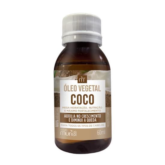 Imagem de Óleo capilar vegetal coco muriel 60ml